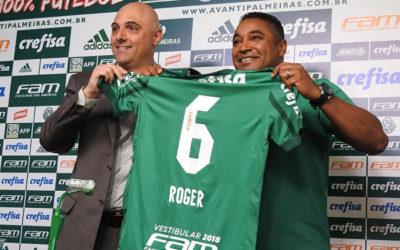 Roger Machado é o Técnico do Verdão!