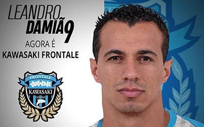 Leandro Damião assina por 3 temporadas com o Kawasaki Frontale do Japão