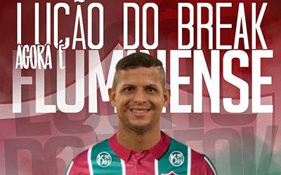 Lucão é o mais novo centroavante do Fluminense