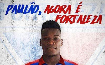 Paulão é o novo reforço do Fortaleza Esporte Clube