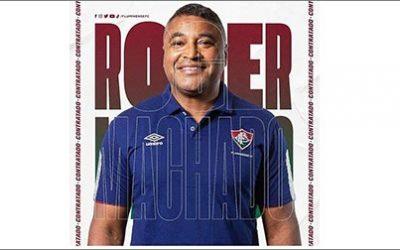Assinado! Roger Machado é o novo treinador do Fluminense