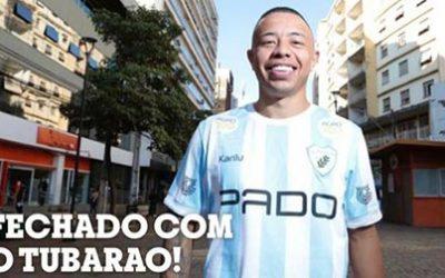 Maurício Caprini assinou contrato por 2 anos com o Londrina Esporte Clube